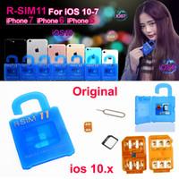 R SIM 11 RSIM11 г sim11 RSIM 11 разблокировки карты для iPhone 7 6 5 6plus Ios 7 8 9 10 ios10.x CDMA GSM WCDMA SB СПРИНТ 3G 4G освобождает DHL