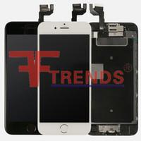 Écran LCD de haute qualité A +++ pour iPhone 6S Ensemble de numériseur à écran tactile de 4.7 pouces avec bouton maison + appareil photo avant + haut-parleur d'enceinte 3D Touch