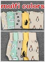 Baby Cotton Sleepwear Pajamas Suits Infant Toddler Warm Prin...