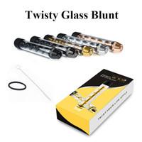 Извилистые Glass Blunt Трубы V12 Херб форсункам 5 цветов Металлические трубы сухой травы испарителей Быстрая перевозка груза