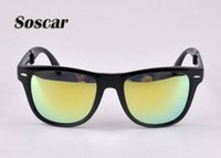 Soscar Folding Sunglasses for Women Brand Designer Sunglasse...