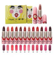 New Makeup Liptstick Matte Liptstick 12 Colors 2 sets of col...