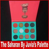 Нубийская палитра Eyeshadow 12 оттенков красивого высокого пигмента матовая Nubian Roseo Kathleen Lights DHL