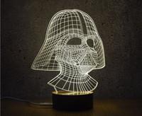 Mixed Lot Creative 3D Optical Night Light 10 EDs Acrylic Lig...