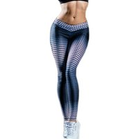 Fashion women leggings push up pants fitness workout slim se...