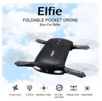 Original JJRC H37 Gyro à 6 axes ELFIE WIFI FPV 720P Caméra HD RC Quadcopter pliable G-capteur RC Selfie Drone