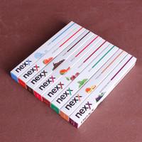 NEXX E-cigarrillos desechables 500 soplos con 8 sabores de fruta Punta de metal desechable VS E-Narguile E Shisha Pen