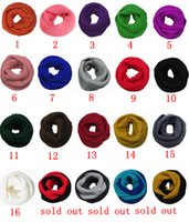 New Fashion Women' s Girl' s Ring Scarf Scarves Wrap...