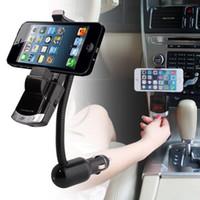BT8118 Bluetooth sans fil Bluetooth multifonction Kit de voiture avec support mains libres chargeur de voiture émetteur FM et lecteur de musique MP3 avec forfait