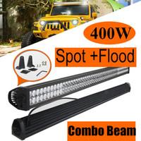 """52"""" Inch 400W Combo Spot Flood LED Light Bar for Work D..."""