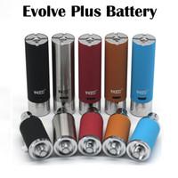 Аккумулятор Yocan Evolve Plus Аккумулятор 1100mAh E Сигареты для Yocan Evolve Plus Восковые насадки для испарителя с восковым наполнителем Новое прибытие