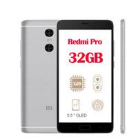 3GB 32GB Xiaomi редми Pro 4G LTE сенсорный ID Android 6.0 Dual Камера заднего вида Дека сердечника MTK6797 5,5 дюйма 1920 * 1080 FHD 4050mAh Аккумулятор смартфона