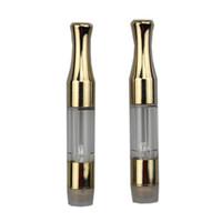 2017 Golden G2 cartouche 510 atomiseur d'huile métallique ce3 vaporisateur cartouches de stylo réservoir pour CBD THC huile épaisse ajustement bourgeon touch batterie