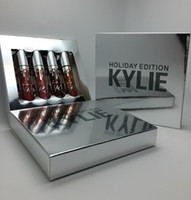 Kylie Holiday Edition Kit 4pcs Matte kylie jenner Liquid lip...