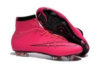 Youth CR7 Soccer cleats mercurial superfly FG Mens Women Chi...