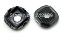Wholesale- black Back camera glass lens circle holder cover f...