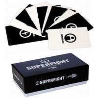 Superfight 500-Card Основная палуба Superfight Card Superfight Игра Hallowmas Рождественский подарок бесплатная доставка