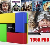 T95K PRO Amlogic S912 Android TV box Octa Core cortex- A53 KO...