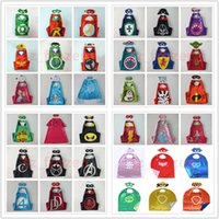 54 Styles Double Side Super Hero Capes Halloween Capes and m...