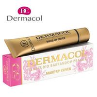 Dermacol Concealer Base Maquillaje Cover Primer Cara Concealer Fundación Contour Dermacol Maquillaje Fundación Crema Libre DHL Envío