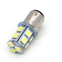 BAY15D 1157 13- SMD 5050 LED bulb Car Steering  Brake  Tail  ...