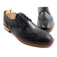 Men Dress shoes Oxfords shoes Round toe Men' s shoes Cus...