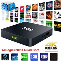 M9S Android Tv Boxes S905X Quad- Core 1G 8G 4K Mini Pc Androi...