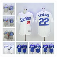 Clayton Kershaw Jersey #22 Los Angeles Dodgers Baseball Jers...