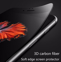 For iPhone 7 Plus 3D Curved Soft Edge Tempered Glass For 6 6...