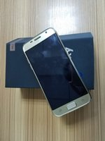 S8 64bit Двухъядерный шоу 4G 64GB RAM 3GB ROM смартфон Android 6.0 goophone S8 Металлическая рама DHL освобождает перевозку груза
