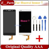1Pcs Pour Huawei Honor 7 écran LCD + écran tactile 100% Nouveau panneau de verre de numériseur pour Huawei Honneur 7 1920x1080 5.2 '' Téléphone avec des outils ouverts