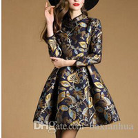 New Cute Fresh Style Long Sleeves casual Dresses High Waist ...