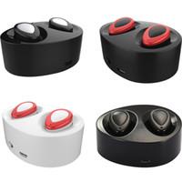 Pour iPhone 7 Plus S7 bord TWS écouteur sans fil pour iPhone7 écouteurs stéréo Bluetooth Bluetooth avec boîte de vente au détail