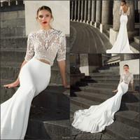Julie Vino Two Piece Mermaid Wedding Dresses 2017 New Collec...