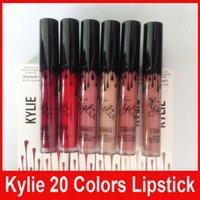 Дженнер LIP KIT Кайли матовая жидкая помада для губ Кайли Velvetine в красном бархате макияж 20 цветов