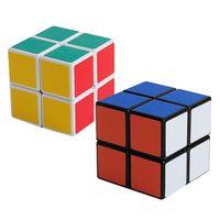2017 Shengshou 2x2x2 Magic Cubes 2 Layers Stickerless Speed ...