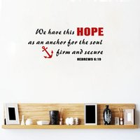 We Have this hope Quote Art Decors Vinyl Wall Decal Stickers...