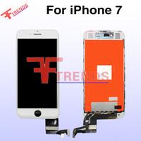 AAA de haute qualité pour iPhone 7 Ecran LCD 4.7inch Ecran tactile Digital Montage complet 3D Touch Noir Blanc Pas de points Points