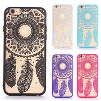 Palace flower iPhone7 Plus phone shell Apple 6s hollow relie...
