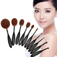 NEW Makeup Brushes Set Oval Blending Brush Multipurpose brus...