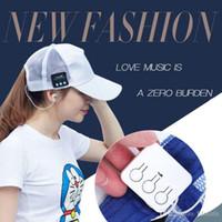 La musique a atteint un sommet Casquette chapeau de soleil Bluetooth3.0 Sport de mode Desgin Casque sans fil d'appui Appel téléphonique Mic Handfree Headset pour téléphone portable
