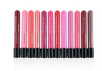 2017 12 Colores Lip Gloss Popfeel Hidratante Impermeable Lipgloss líquido de larga duración para proteger los labios y decoración