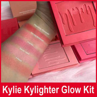 Kylie Kylighter glow kit Bronzers & Highlighters 5 colors Co...