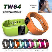 TW64 Smart Watch Sport Watch Wristbands Passometer and Sleep...
