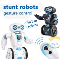 Newest stunt robot Gesture control Intelligent robot Balance...