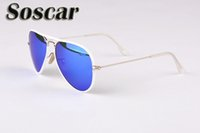 Soscar Brand Authentic Sunglasses for Men Women Designer Sun...