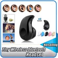 Gold Sport Running S530 Mini sans fil Bluetooth 4.0 écouteurs stéréo casque musique casque de vente au détail de la boîte pour iphone Samsung avec Retail Box