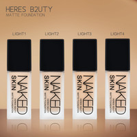 Brand HERES B2UTY NAKED Makeup Base Liquid Foundation Longla...