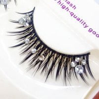 Photo Studio Latin Makeup False Eyelashes Cross Messy Thick ...