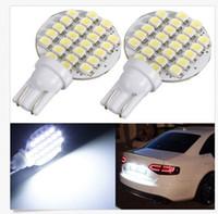 30PCS Wedge T10 24 SMD LED 194 921 W5W 1210 147 168 192 RV L...